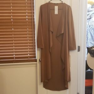 Flowey longline cardigan